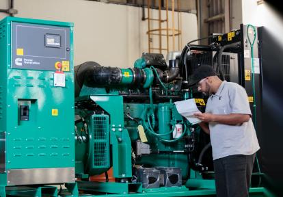 Prearranque de generadores, Trienergy petroleo e industria
