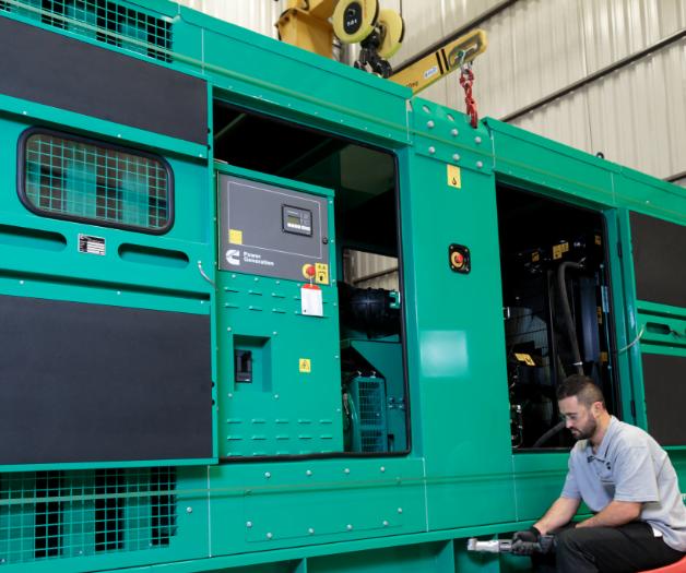Puesta en marcha generadores, Trienergy petroleo e industria