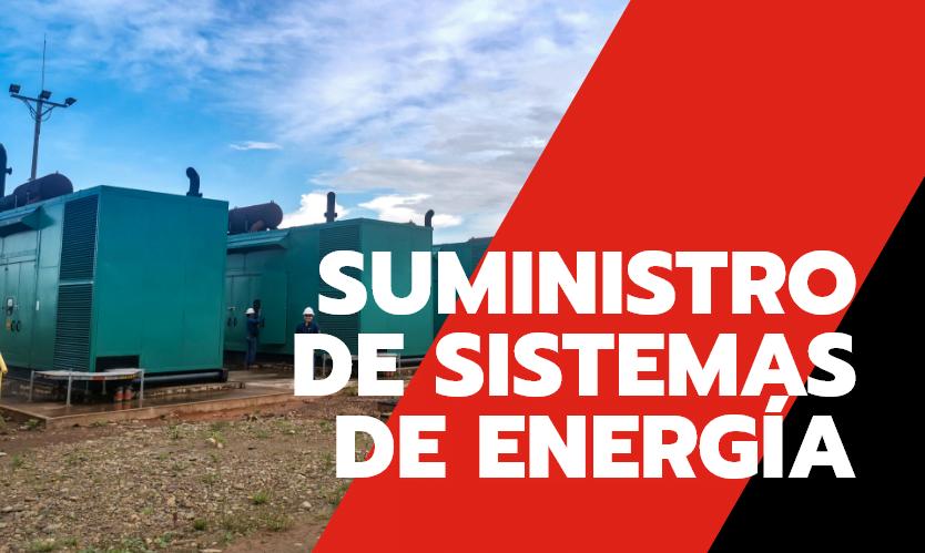 Suministro de sistemas de energía, Trienergy petroleo e industria
