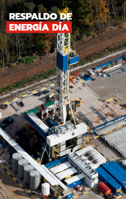 Energía de respaldo día, Trienergy petroleo e industria