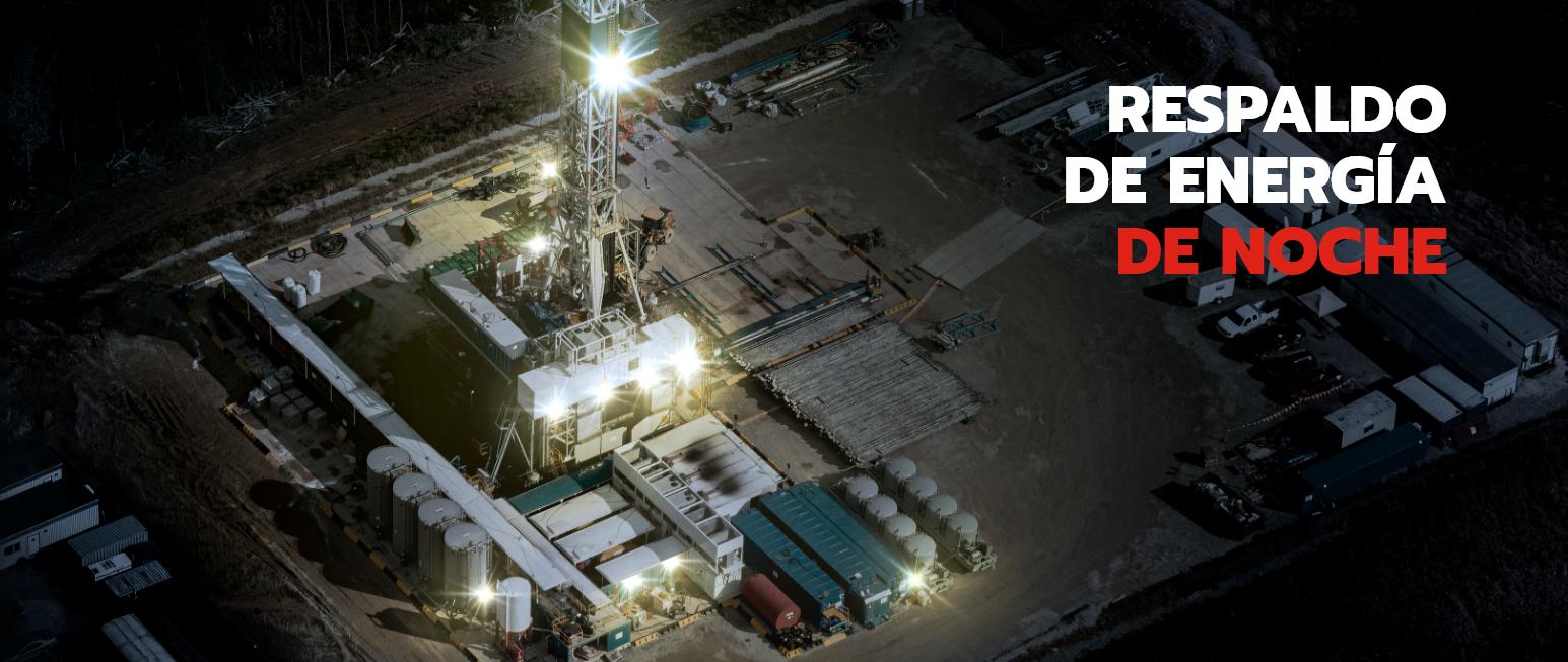 Respaldo de energía de noche, Trienergy petroleo e industria