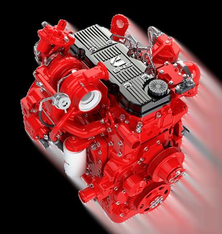 Motor Cummins B45, Trienergy petroleo e industria