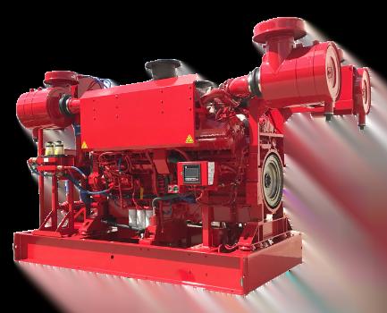 Motor Cummins CFP60E, Trienergy petroleo e industria