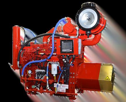 Motor Cummins CFP9E, Trienergy petroleo e industria