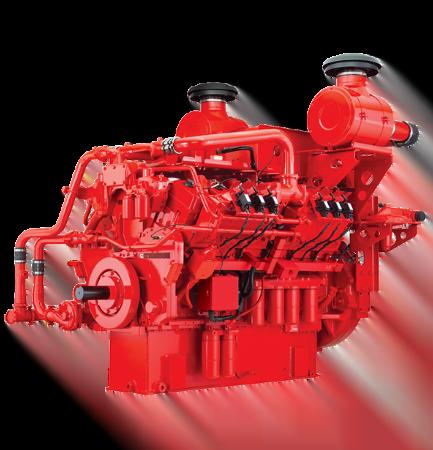 Motor Cummins KTA38GC, Trienergy petroleo e industria