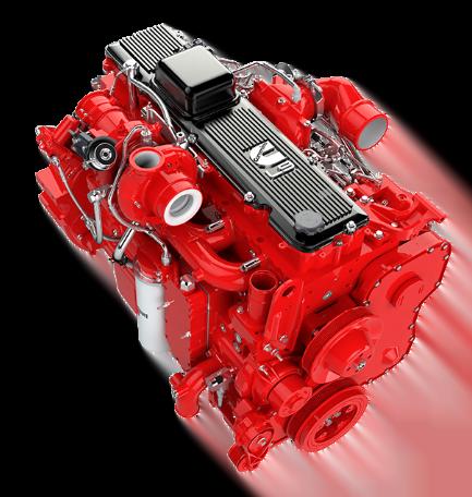 Motor Cummins L9, Trienergy petroleo e industria