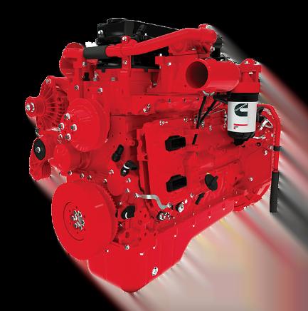 Motor Cummins QSB67, Trienergy petroleo e industria