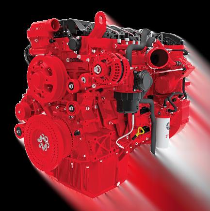 Motor Cummins QSG12, Trienergy petroleo e industria
