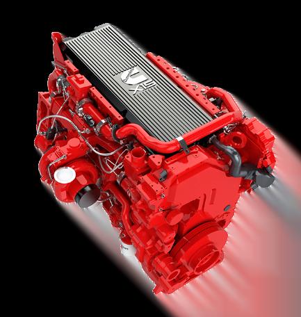 Motor Cummins X15, Trienergy petroleo e industria