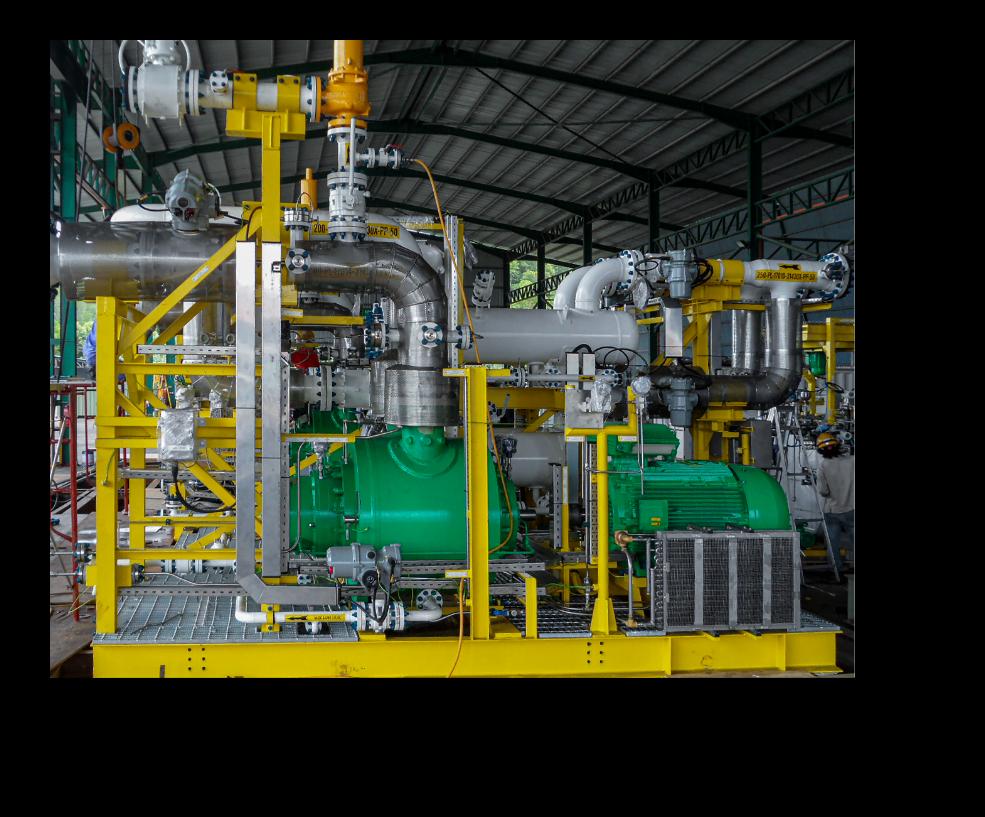 Bombeo, Trienergy Petróleo e Industria