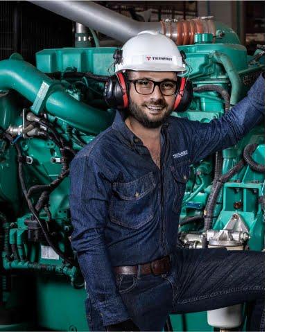 Profesionales certificados, Trienergy petróleo e industria